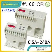 ZHRA2 (S) motor protector com 5 tipos de funções inclui over & sob carga  falta de fase  assimetria  teste e botão de reset|protector 3|protector motor|protector box -