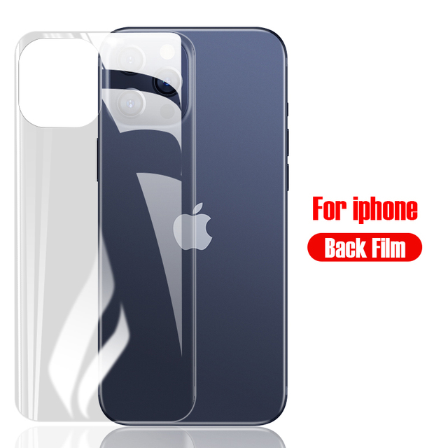 Hydrogel Film Phone Screen Protector For iPhone 11 Pro Max X XR XS Max 6 6s 7 8 Plus 12 Mini SE 2020 Camera Lens Tempered Glass 5