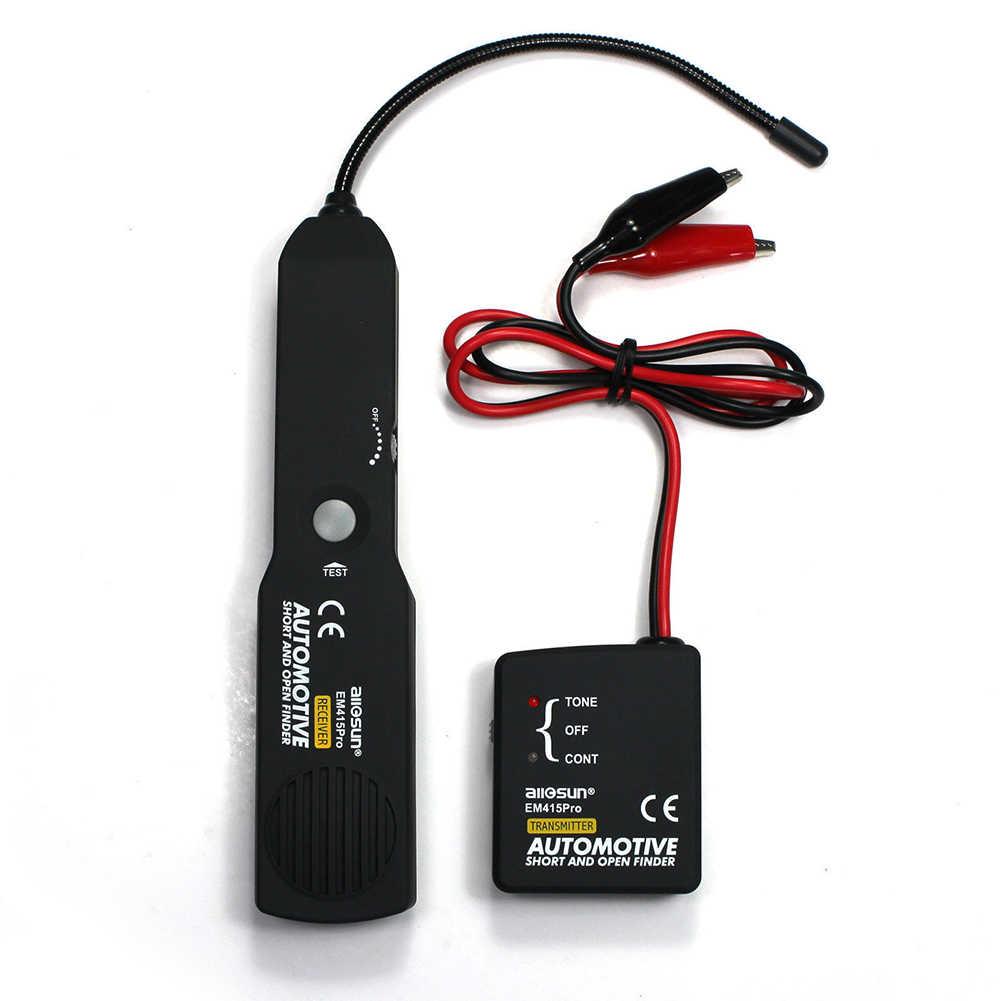 كابل سيارات تعقب الأسلاك قصيرة ومفتوحة مكتشف جهاز فحص الدائرة الكهربائية الرقمية