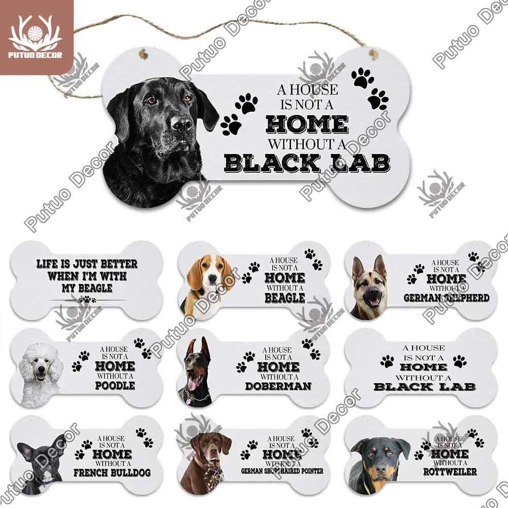 Hanging Dog Plaque