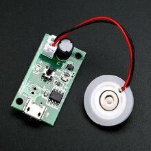 3x / 5x 16mm 1.5-3W USB Mini Humidifier DIY Kits Mist Maker And Driver Circuit Board Fogger Atomization Film Atomizer