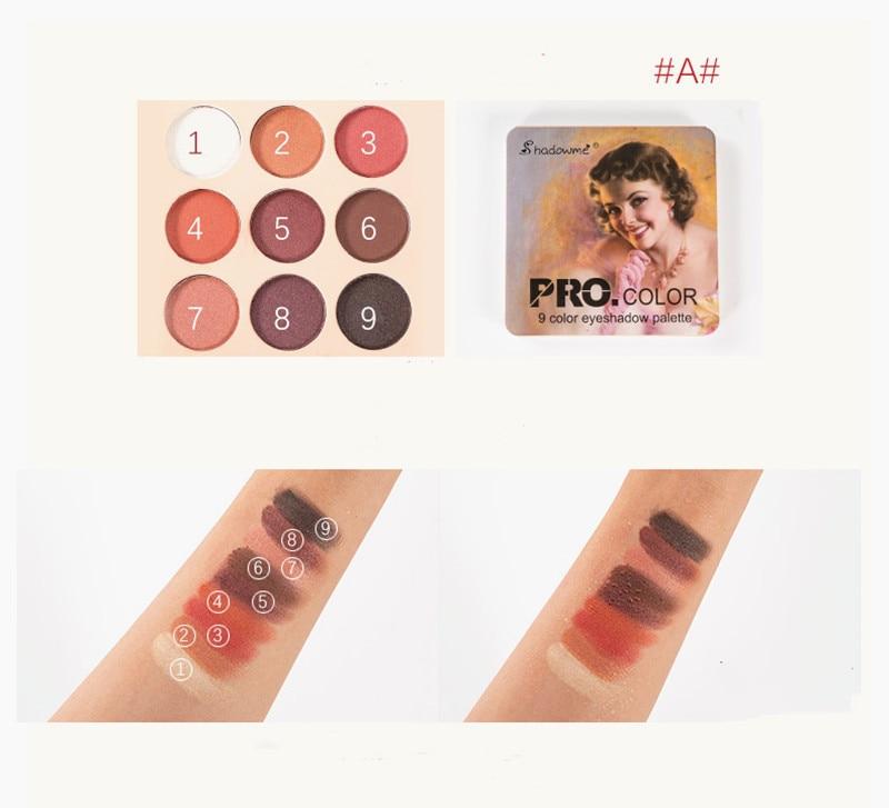Image 3 - Matte Eyeshadow Palette Nude Minerals Professional Eye Shadow Powder Pigment Cosmetic Waterproof Matte Makeup Eyeshadow Pallete-in Eye Shadow from Beauty & Health