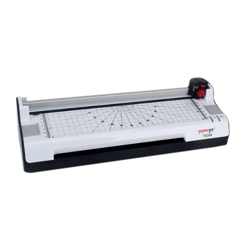 A3 A4 Thermal & Cold Laminator 3 Minutes Warm-Up 250Mm/Min Laminate Speed With Built-In Trimmer/Round Corner / 20 Pouches For