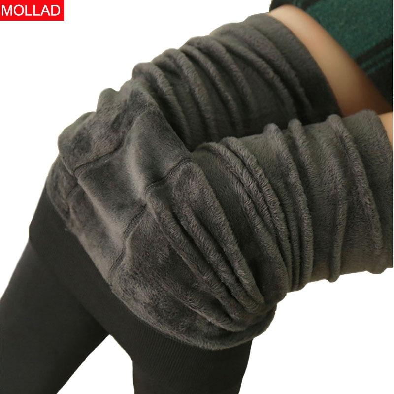 2019 Winter Women Plus Velvet Leggings High Elastic Warm Ankle-Length Legging