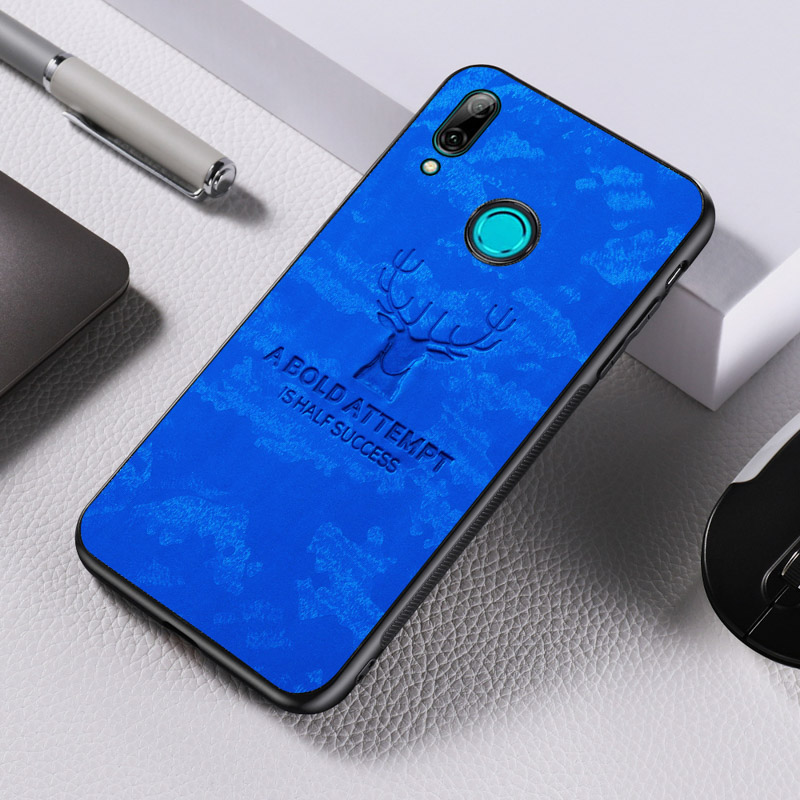 Rugged TPU <font><b>Case</b></font> For <font><b>Huawei</b></font> Y9 <font><b>2019</b></font> <font><b>Case</b></font> Fabric Cloth Back <font><b>Covers</b></font> For <font><b>Huawei</b></font> Y9 Prime <font><b>Y7</b></font> Pro Y5 P Smart 2018 <font><b>2019</b></font> Nova 5T 6 SE 7i image