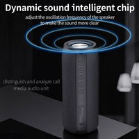 ZEALOT-Altavoz Bluetooth inalámbrico portátil, Subwoofer resistente al agua, soporte de caja de sonido TF, TWS, unidad Flash USB