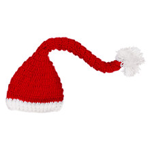 Baby Hand-Knitted Hat Festive Christmas Hat Winter Hats Boys Girls Cute Beanie(China)