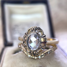 Vintage White Zircon Stone Wedding Rings Set Fashion Engagement Ring For Women Jewelry Bridal Sets