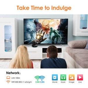 Image 5 - 4GB 64GB Android 9.0 TV BOX Amlogic S905X2 Quad Core Wifi BT4.0 H.265 4K Netflix Youtube Google Play HK1 Plus X2 Smart TV BOX