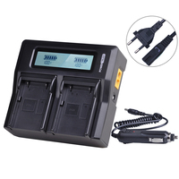 1x 54344 Battery Charger with LCD display for Trimble 29518 46607 52030 38403 5700 5800 R7 R8 GNSS MT1000 GPS Receiver Batteries