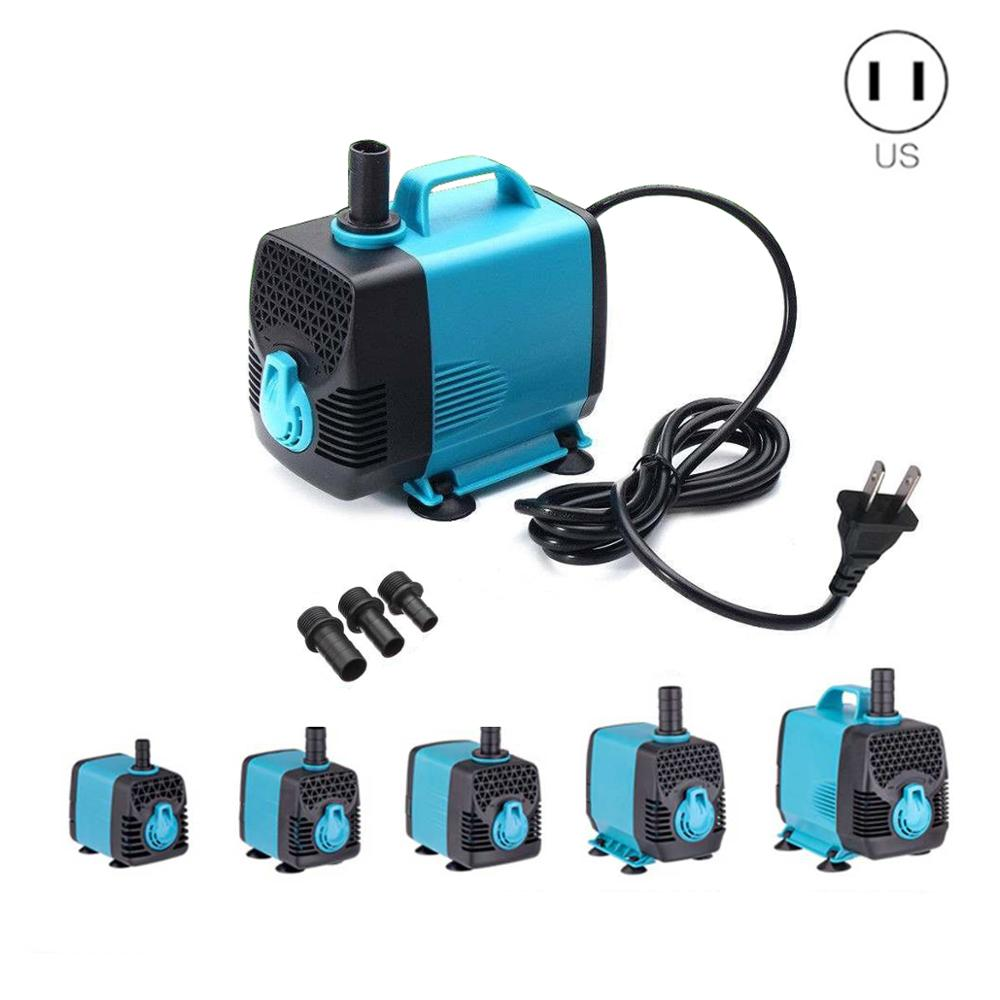 <font><b>110V</b></font> Ultra Quiet Waterproof IP68 Filter <font><b>Water</b></font> <font><b>Pump</b></font> for Aquarium Pond Submersible Fountain <font><b>Pump</b></font> 10/15/25/40/55W 600-3000L/H image