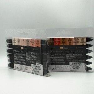 Image 5 - Winsor & Newton Promarker 스킨 톤 세트 트윈 팁 알코올 기반 패스트 드라이 마커