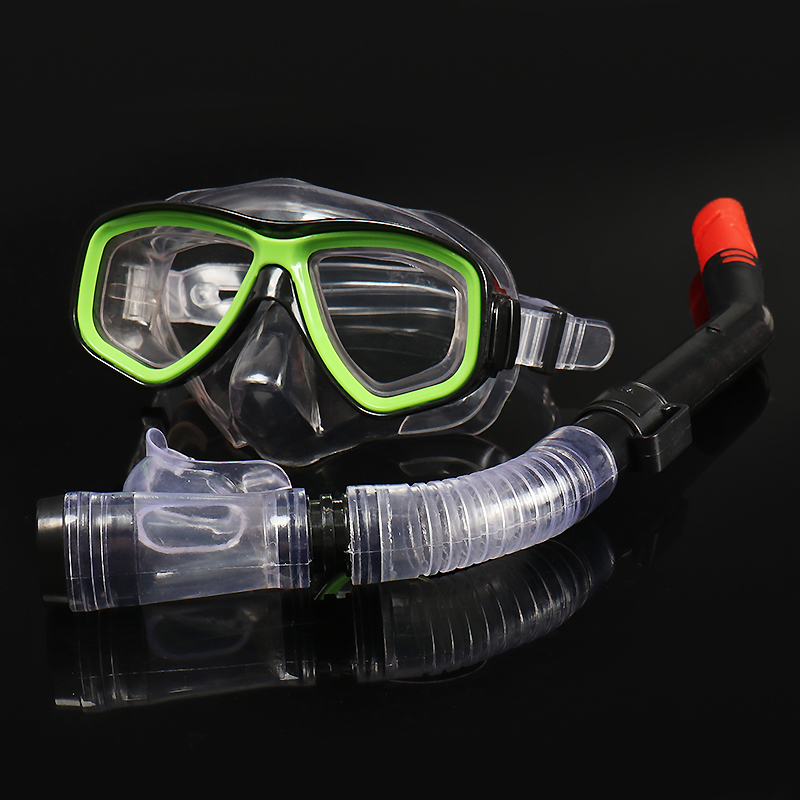 Kids Diving Mask And Snorkels Set Anti-Fog Goggles Glasses Diving Swimming Easy Breath Tube Snorkeling Suit Professional Scuba