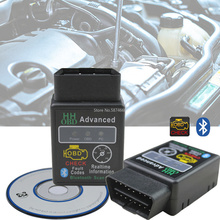 Bluetooth ELM327 HH V2.1 skaner samochodowy OBD2 diagnostyka usterki samochodu Android Torque UK dekodowania instrumentu wykrywania usterek samochodowych