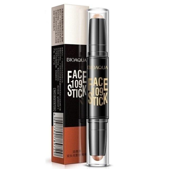Bioaqua pro corretivo caneta rosto compõem líquido à prova dwaterproof água contorno fundação contorno maquiagem corretivo vara lápis cosméticos 6
