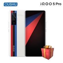 Vivo-móvil IQOO 5 Pro, 8GB + 256GB, Snapdragon865, 120Hz, frecuencia de actualización 5x, zoom óptico 120w, SuperVOOC