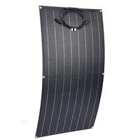 Ship From Spain 100W Flexible Solar Panel Monocrystalline Solar Cell 12v Solar Charger For RV Home Boat ETFE Solar 100w