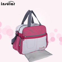 Baby Nappy Bags Fashion Diaper Bag Mother Shoulder Bag Maternity Mummy Handbag Large Capacity Waterproof Baby Stroller Bag new multifunctional striped big baby nappy bags stylish mummy handbag shoulder messenger maternity mother bags baby stroller bag