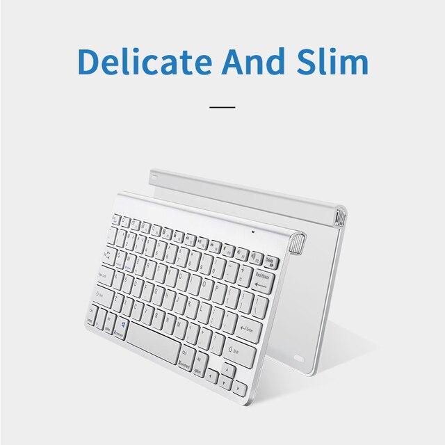SANLEPUS Ultra Slim Bluetooth Keyboard Wireless Computer Keyboard Mini For Phone Tablet Laptop iPad iPhone