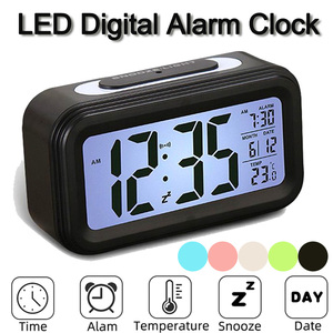 LED Digital Alarm Clock Multi-
