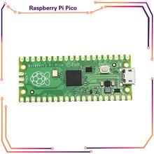 Официальный Raspberry Pi Пико доска RP2040 двухъядерный 264KB ARM с низким уровнем Мощность микрокомпьютеров высокопроизводительный Cortex-M0 + процессор