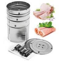 3 lagen Rvs Ham Druk Gemakkelijk te Demonteren Gemakkelijk Te Schoon Duurzame Betrouwbare Maker Machine Vlees Gevogelte Koken Gadget