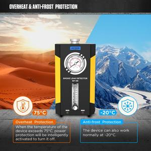 Image 5 - AUTOOL SDT 206ควันเครื่องกำเนิดไฟฟ้าสำหรับรถยนต์Smog Tester Leak Locatorรถยนต์ควันรถเครื่องตรวจจับท่อDiagnostic
