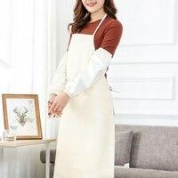 Jednokolorowy fartuch koreański modny fartuch kelner fartuch kombinezon fartuch wodoodporny w Fartuchy od Dom i ogród na