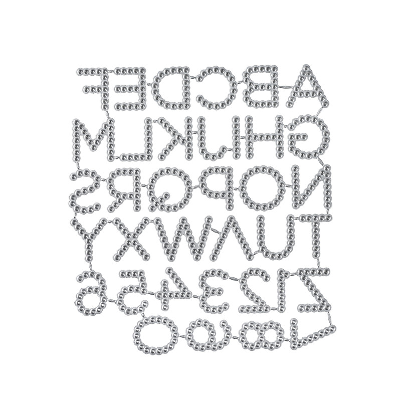 YaMinSanNiO 26 Alphabet Dies A-Z Letter Metal Cutting New for Card Making Scrapbooking Embossing Die Cut Stencil Craft