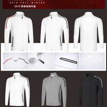 K мужские Гольф одежда мужская плюс бархатная куртка теплая Гольф одежда Гольф clothingFree