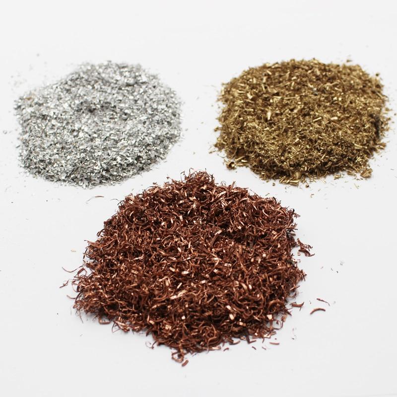 Copper/brass/aluminum/bronze/iron Shavings Borings For Orgone Orgonite Cloud Buster Resin Casting