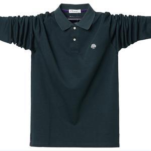 Image 3 - 4XL 5XL גדול גודל זכר פולו חולצות רחב מימדים 95% כותנה סתיו חורף גדול וגבוה Mens מותג בגדים אדום אפור ירוק שחור כחול