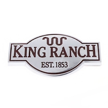 Door Tailgate King Ranch Emblem Logo Sticker For 2011-2017 Ford Expedition F150 F250 F350 F450 oil cooler kit for ford 6 4l powerstroke diesel engine f250 f350 f450 8c3z6a642a