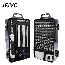 JFJVC 117 in 1 Screwdriver Set Multi-function Precision Phone Tablet Watch Drone Repair Device Hand Tools Torx Hex Screw Driver