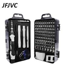 JFJVC 117 in 1 Screwdriver Set Multi-function Precision Phone Tablet Watch Drone Repair Device Hand Tools Torx Hex Screw Driver