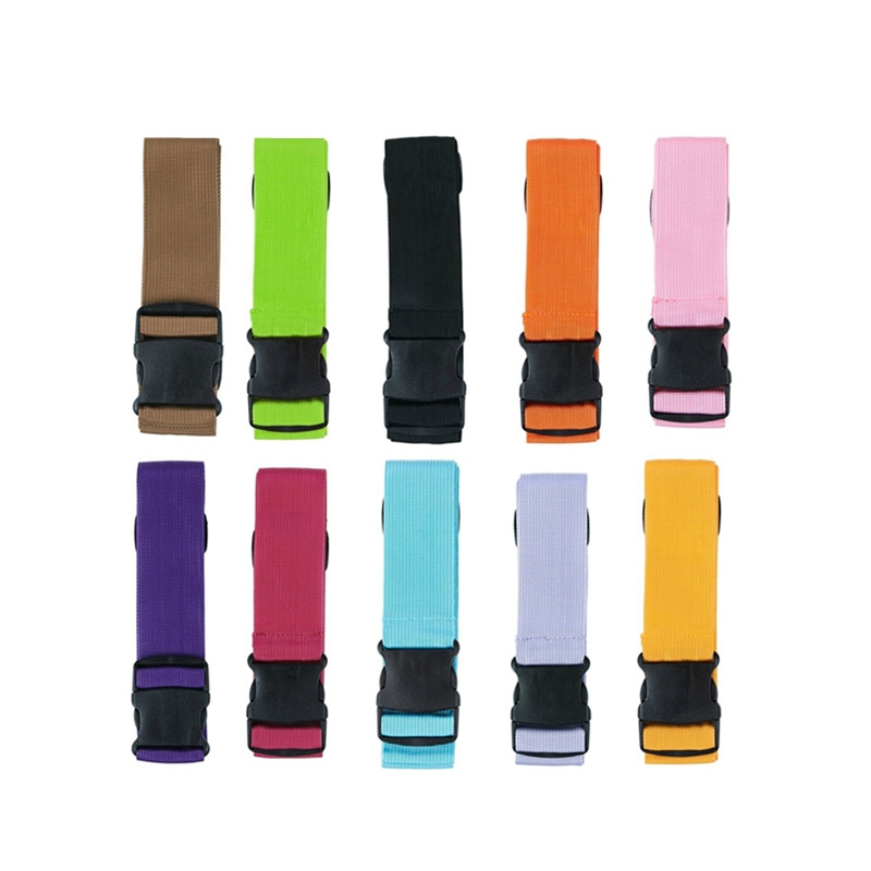 Unisex Travel Luggage Straps Practical Adjustable Luggage Belt Baggage Suitcase Travel Accessories 180cm Luggage Protection Belt