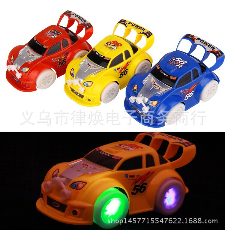 Hot Sales Plastic Toy Stunning Universal Toy Car Shining Music Children Electric Toys Car Model