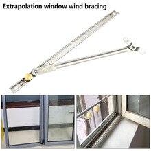 Оконное крепление от ветра, инструменты для безопасности, нержавеющая сталь, прочные опорные элементы, окна, прочные, безопасные