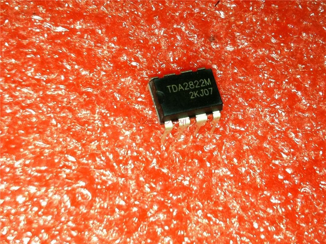 10pcs/lot TDA2822M TDA2822 DIP-8 = UTC2822M UTC2822 CSC2822 Dual Lo-Volt Pwr Amp Audio Amplifiers New Original In Stock