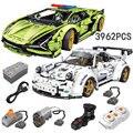 2021 MOC 3962pcs Building Blocks Lamborghini sian Bricks Technical Car Toys Super Racing Vehicle Model Gift For Boyfriend
