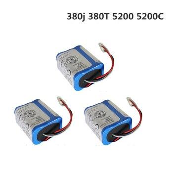 New 7.2V 2500mAh Replacement Battery For iRobot Roomba Braava 380 & 380T / Mint 5200 / Mint 5200c Battery High Power 3Pcs