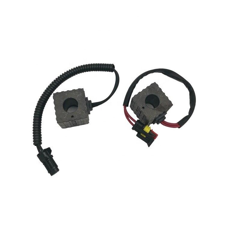 Оптовая продажа Мощность инструмент Аксессуары катушка электромагнитного клапана 12v/24v для Sany SY75 SY310 SY330 экскаватора