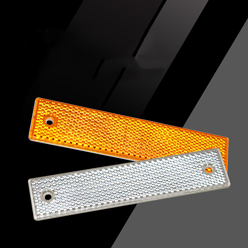 Reflective Material Road Stud Pavement Marker Anti-collision Warning Spike Yellow LED Single-sided Reflective Highway Outline
