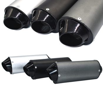 Motorcycle Exhaust Muffler Pipe for 125cc 150cc 160cc Bike