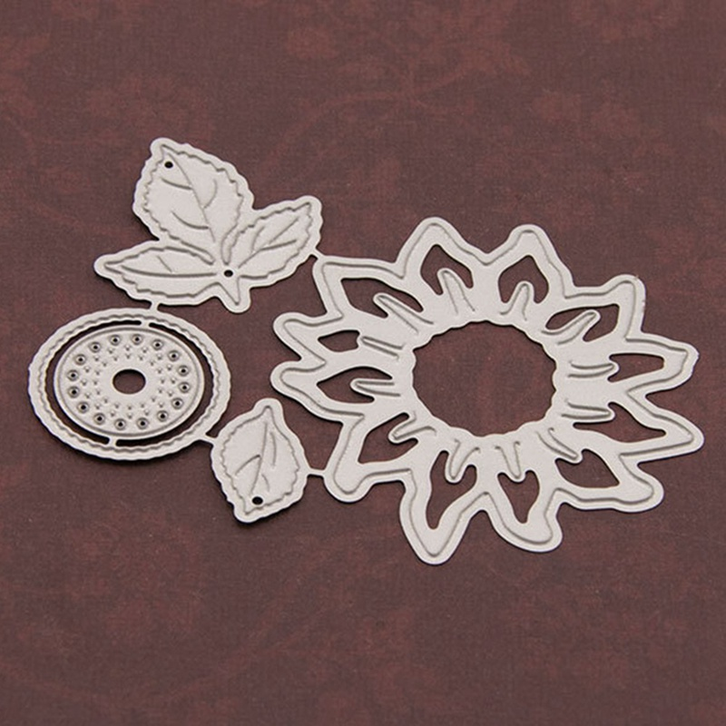 Halloween Sunflower Paper Die Cutting Stencils Punch Metal Cuts Dies Cutting Dies Scrapbooking Diy Embossing Mould Card
