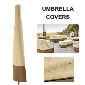 200x30cm impermeable 600D Oxford tela sombrilla al aire libre sombrilla cubierta jardín Patio parasol voladizo lluvia Accesorios