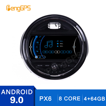 7 Inch 4+64G 2 Din Stereo Android 9.0 for BMW Mini One F55 F56 Cooper 2015-2019 GPS Navigation DVD Player Radio Multimedia Unit