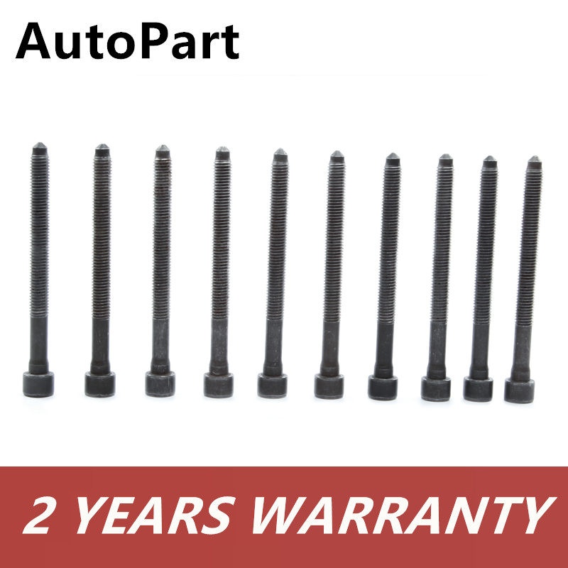 Head Gasket  /& 10-Cylinder Head Bolts  Audi//VW 2.0 Turbo  REINZ