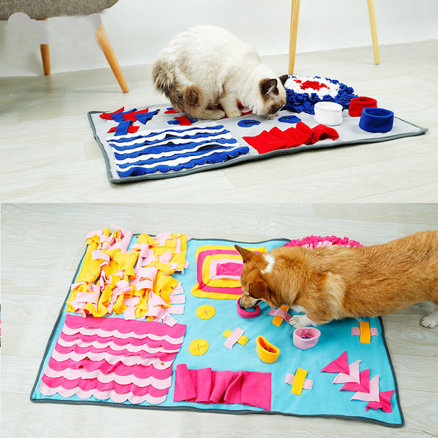 Dog Puzzle Interactive Training Mat 2