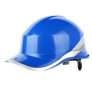 Protective-Cap Helmet Construction-Site Work with ABS Phosphor Stripe Insulating Adjustable